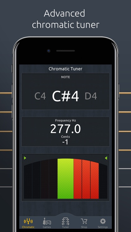 DoubleTune - Tuner for Guitar, Ukulele and Bass screenshot-4