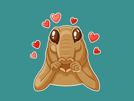 Cute Anteater Stickers for iMessage