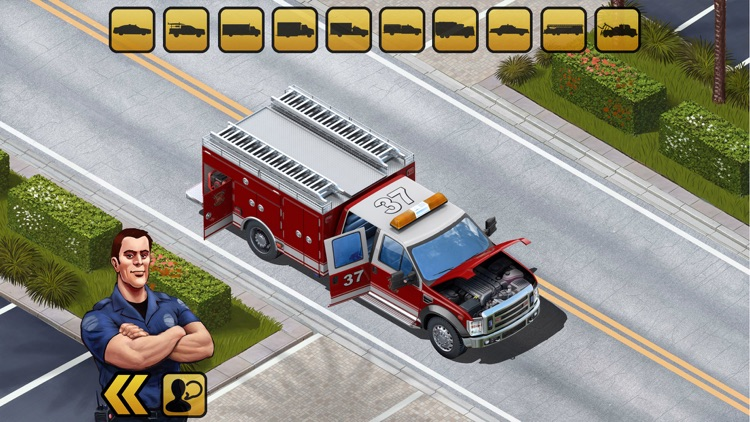 Kids Vehicles: Emergency screenshot-3