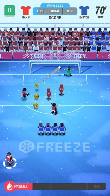 Tiny Striker: World Football screenshot-4