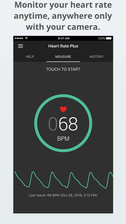 Heart Rate Plus - Heart Rate Monitor & Tracker