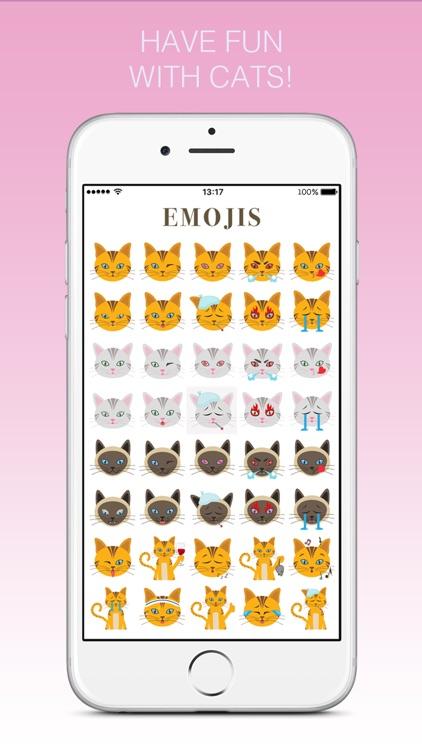 Cats - emoji sticker pack for cat lovers screenshot-3