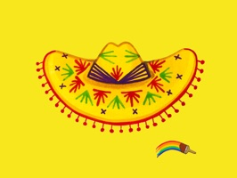 Fiesta by MarcyMoji is a hand painted collection of 31 stickers - from guacamole to sombreros, there's everything you need to express your inner fiesta
