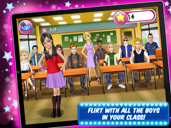 My School Dance Game - Play Fun Free High School Kids Girl Games screenshot