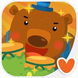 t l charger jeux course pour bebes et enfants animaux puzzle pour iphone ipad sur l 39 app. Black Bedroom Furniture Sets. Home Design Ideas