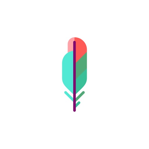 Feather Stickers app logo