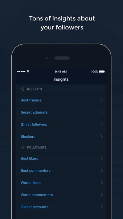 Followers Tracker & Likes Analytics for Instagram screenshot-3