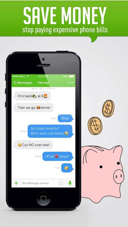HiTalk - Phone Calls App, Text screenshot-4