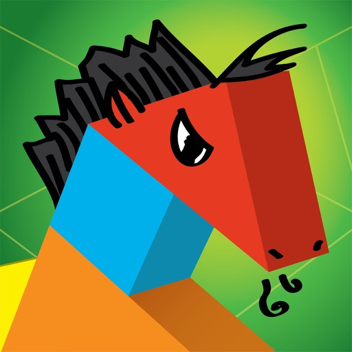 Kinder Tangram: Farm Animals iOS App