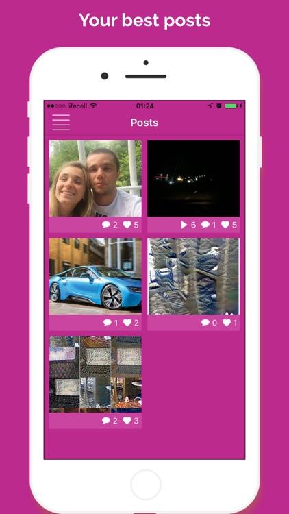 Analytics for Instagram - Followers, Likes, Report screenshot-3