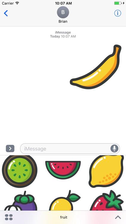 Sweetie Fruit Stickers