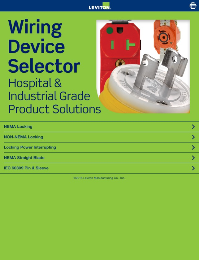 Leviton Wiring Device Selector on the App Store