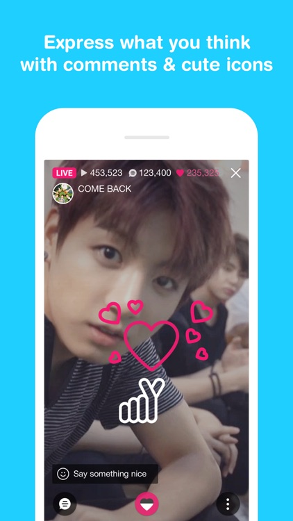 V LIVE - Broadcasting App screenshot-2