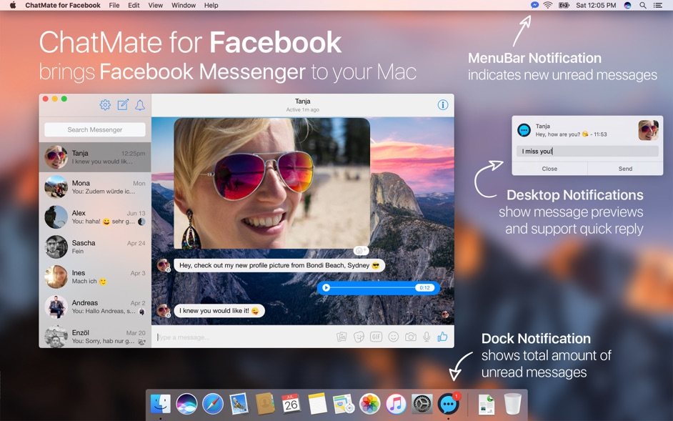 ChatMate for Facebook 4 3 1 – Powerful client for Facebook