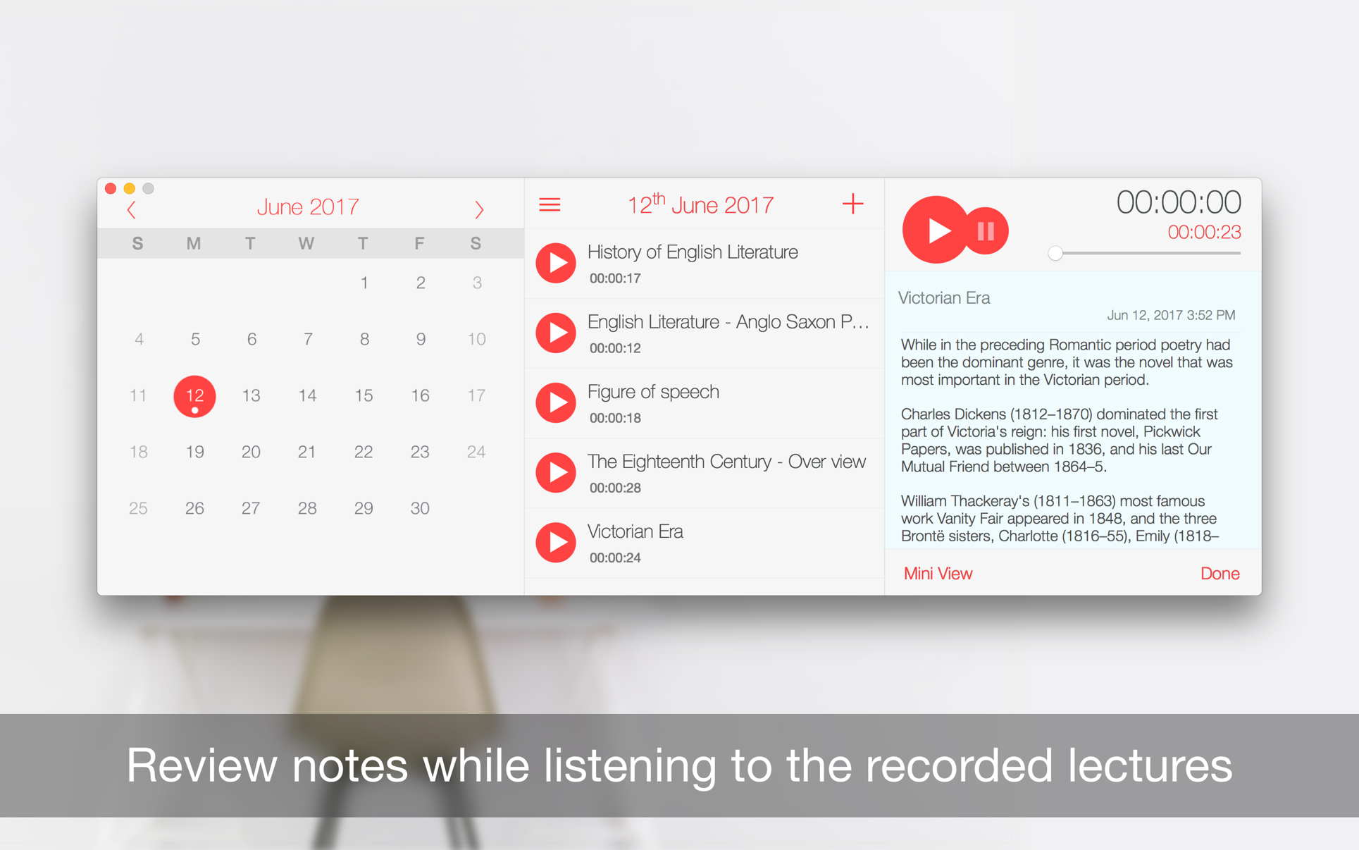 ‎Record Lectures on the Mac App Store