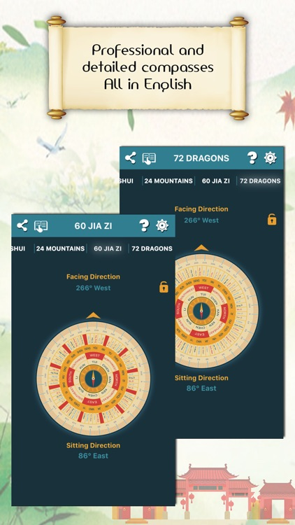 Chinese Compass Feng shui screenshot-3