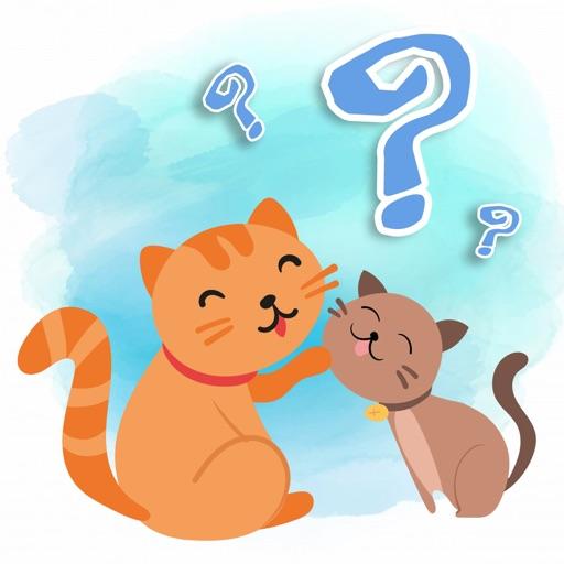 Cute Little Kitten Find Matching Game