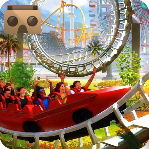 VR Roller Coaster : Real Water Ride Experience