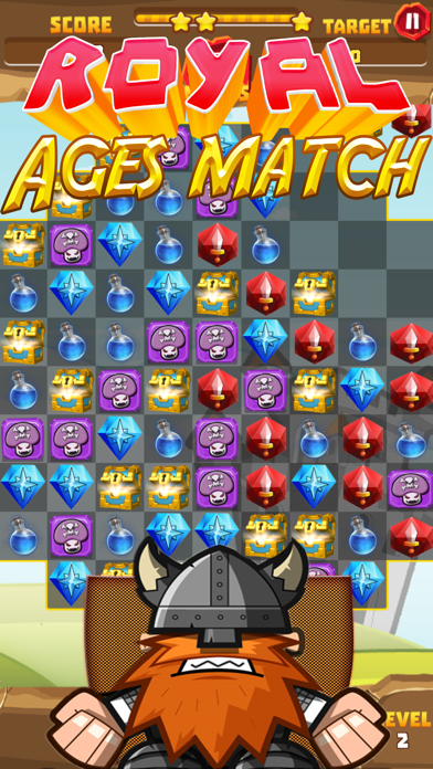 Royal ages of match screenshot one