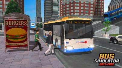 バスシミュレーター2017 - 市のバスバス運転のバスのスクリーンショット1