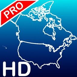 Aqua Map USA & Canada HD - GPS Nautical Charts