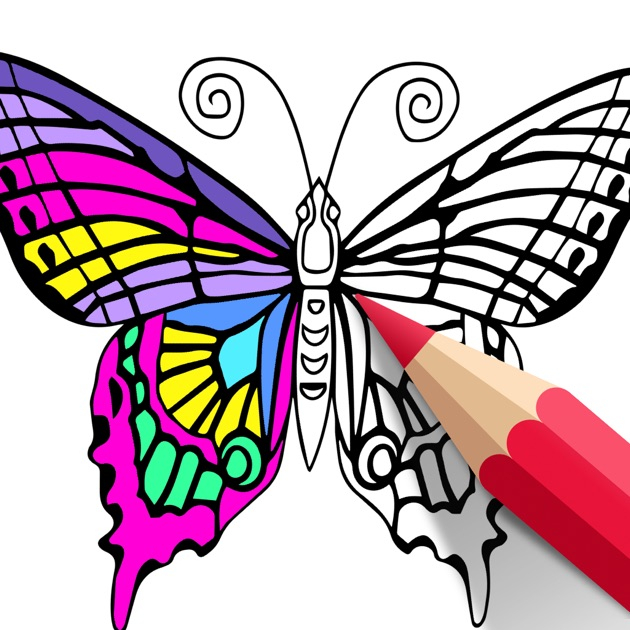 Adult Coloring Book | COLORS on the App Store