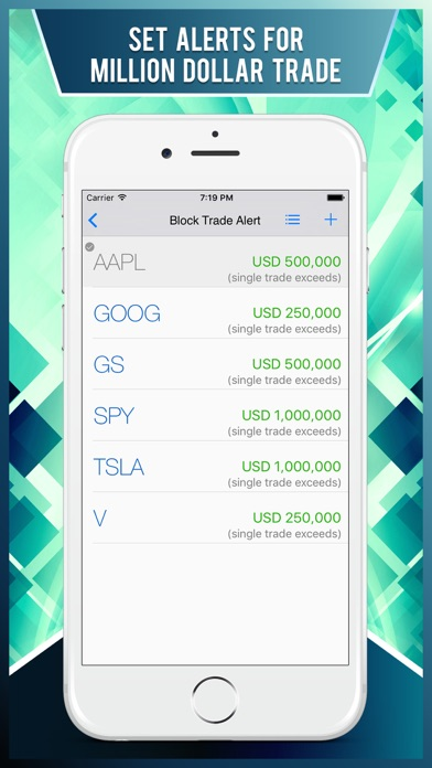 Block Trade : Watch Stock Market Smart Money Flow Screenshot