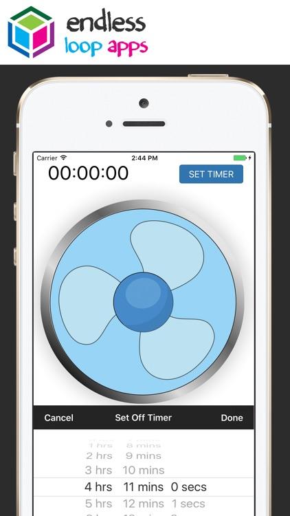 Fan Sleep Aid - White Noise Background Fan Sounds