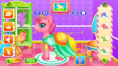 Unicorn Princess Dressup & Cleanup screenshot three