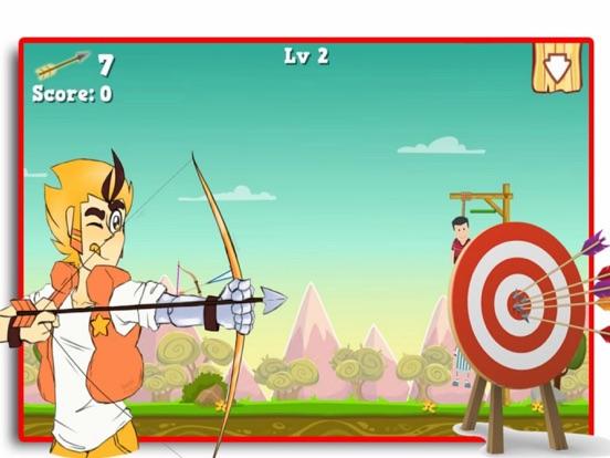 Bow Shoot Rescue Game screenshot 4