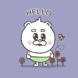 Lil Cute Bear Stickers