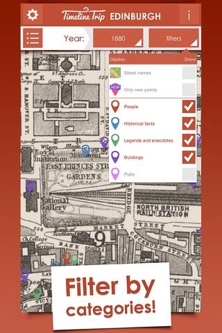 Timeline Trip Edinburgh - náhled