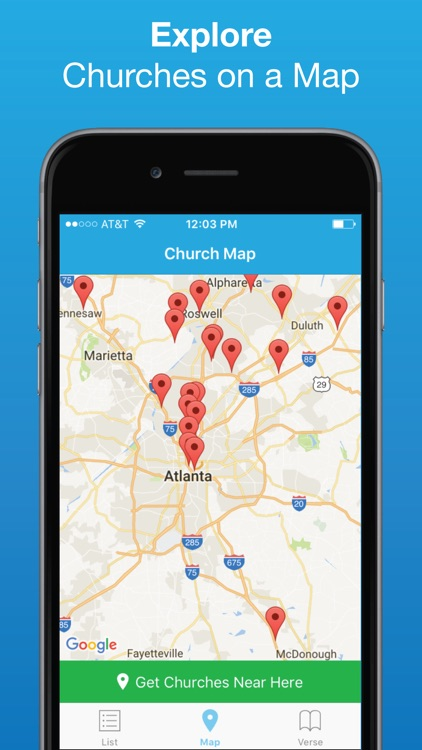 Church Finder: Locate Nearby Churches & Cathedrals screenshot-2