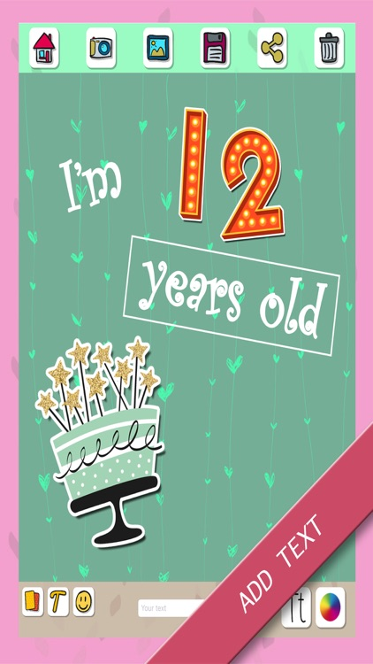Happy birthday greeting cards & stickers – Pro screenshot-3