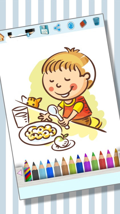 Coloring pages - Painting activity book screenshot-3