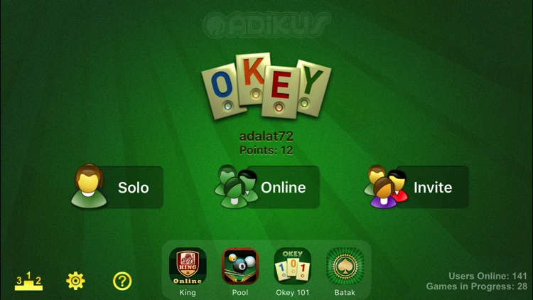 OkeyOnline screenshot-1