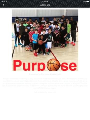 Purpose Basketball - náhled
