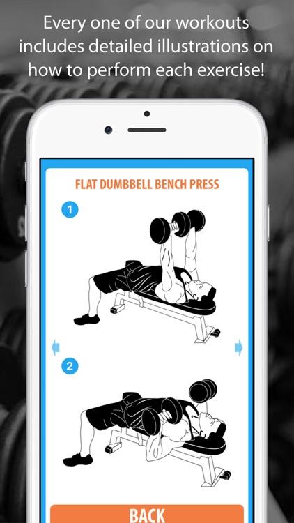 Muscle Building Workout Program - 5 Day Split screenshot-3