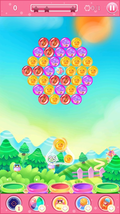 King of Bubble: a puzzle game