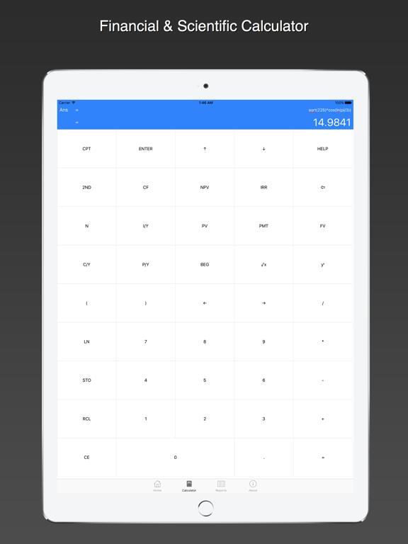 Screenshot #4 pour Ray Financial Calculator