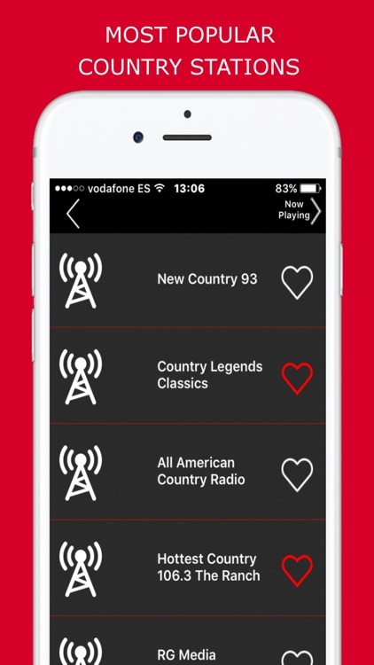 Country Music - Radio Stations screenshot-2