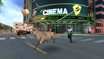 Screenshot from Goat Simulator PAYDAY
