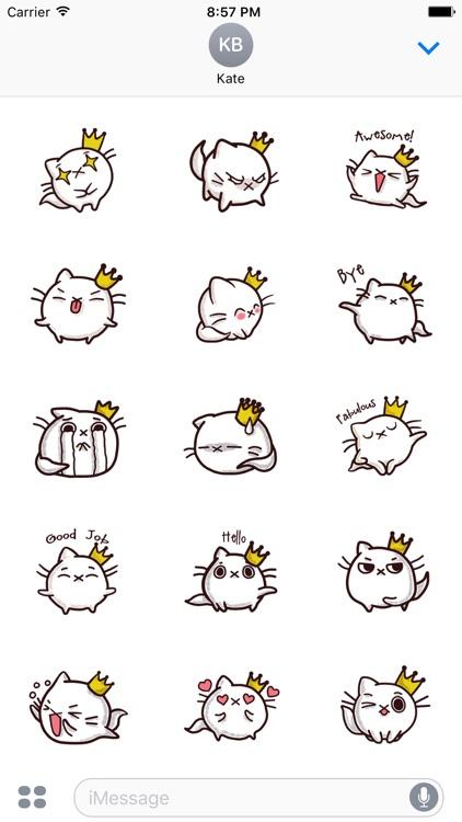 KittyMoji - Animated Kitty Emojis and Stickers