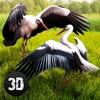 ストーク鳥シミュレータ3D
