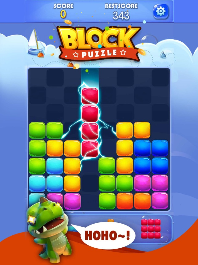 Candy Block Puzzle Blitz on the