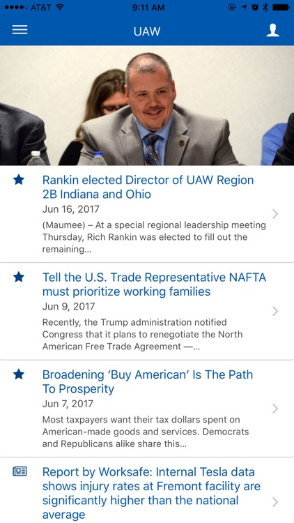 UAW App screenshot-0