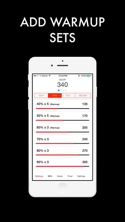 5/3/1 Strength Training screenshot-3