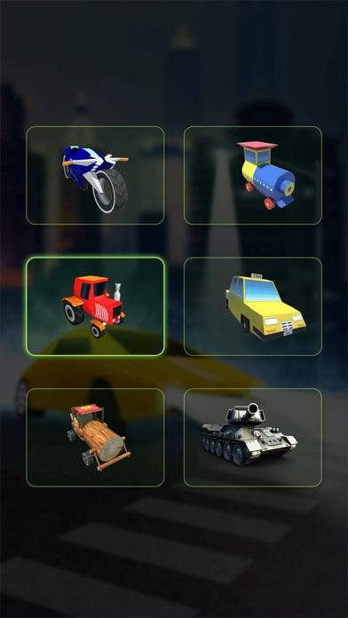 Mini Train Street Rush Pro screenshot