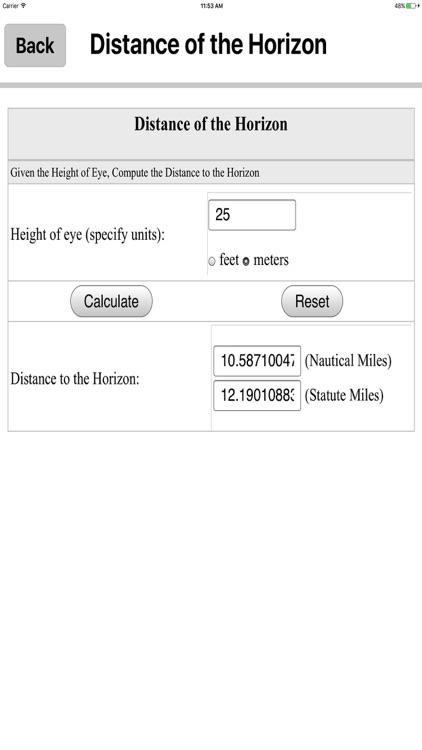 Nautical Calculators MGR screenshot-4