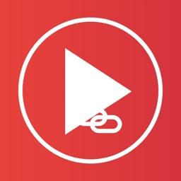 VideoToMusic - Links Player for YouTube